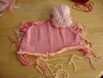 100% Cotton Knit Baby Sweater