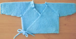 Turquoise Crocheted Wrap Top