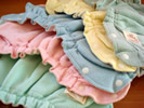Ecobaby Organics Cloth Diapers are made of 100% Organic Cotton Sherpa