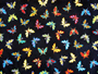 Wahmies Fun Prints Wet Bags- Butterflies Black
