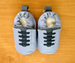 ShooShoos Soft Soled Baby Shoes- French Blue Sports
